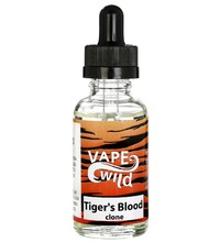 Vape Wild - Tiger's Blood (clone), 30 мл. стекло