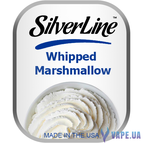 Ароматизатор Capella SilverLine Whipped Marshmallow (Зефир со сливками) , 5 мл.