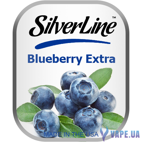 Ароматизатор Capella SilverLine Blueberry Extra (Спелая черника) , 5 мл.