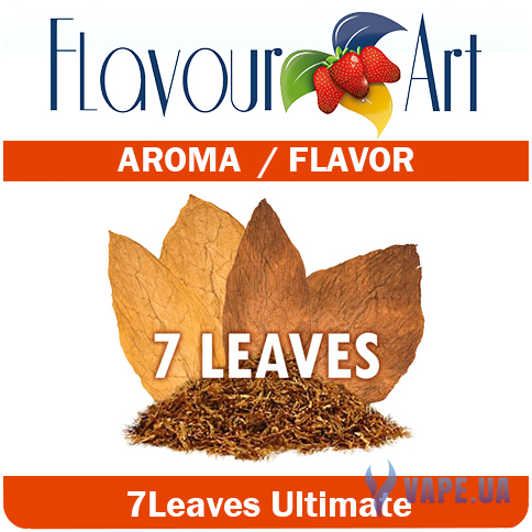 Ароматизатор FlavourArt 7 Leaves Tobacco (7 видов табака), 10 мл.