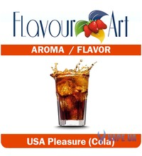FlavourArt Usa Pleasure (Cola) (Кола), 10 мл.