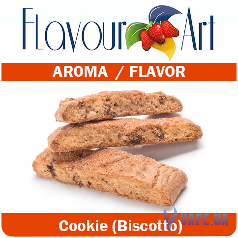 Ароматизатор FlavourArt Cookie (Biscotto) (Печенье), 10 мл.