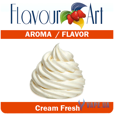 Ароматизатор FlavourArt Fresh Cream (Сливки), 5мл.