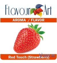 FlavourArt Red Touch (Strawberry) (Клубника), 10 мл.