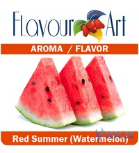 FlavourArt Red Summer (Watermelon) (Арбуз), 10 мл.