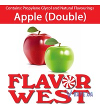 FlavorWest Apple (Double) (Двойное яблоко), 10 мл.