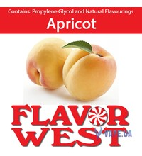 FlavorWest Apricot (Абрикос), 10 мл.