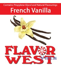 FlavorWest French Vanilla (Французская ваниль), 10 мл.