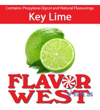 FlavorWest Key Lime (Лайм), 10 мл.