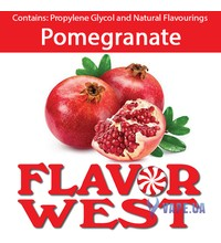 FlavorWest Pomegranate (Гранат), 10 мл.