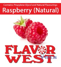 FlavorWest Raspberry (Natural) (Малина), 10 мл.