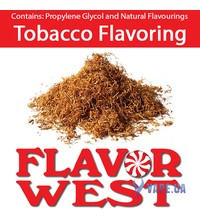 FlavorWest Tobacco Flavoring (Табак), 5 мл.