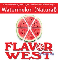 FlavorWest Watermelon(Natural) (Арбуз), 10 мл.