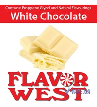 FlavorWest White Chocolate (Белый шоколад), 10 мл.