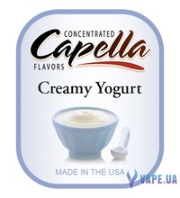 Capella - Creamy Yogurt (Йогурт), 120 мл.
