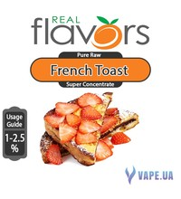 Real Flavors  Super Concentrate French Toast (Фпранцузские тосты), 5 мл.