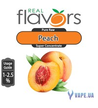Real Flavors  Super Concentrate Peach (Персик), 5 мл.