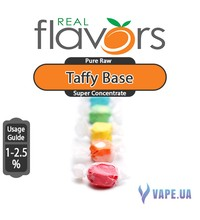Real Flavors  Super Concentrate Taffy Base (Конфета), 10 мл.