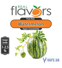 Real Flavors  Super Concentrate Watermelon (Арбуз), 10 мл.