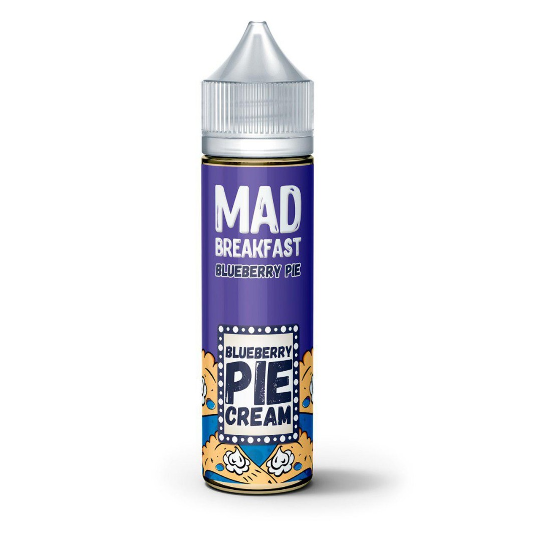 Жидкость Mad Breakfast - Bluebery Pie, 60 мл.