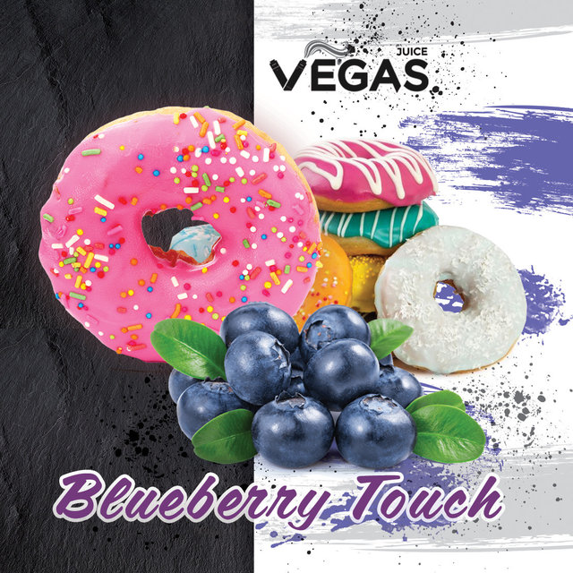 Жидкость Vegas - Blueberry Touch, 60 мл.
