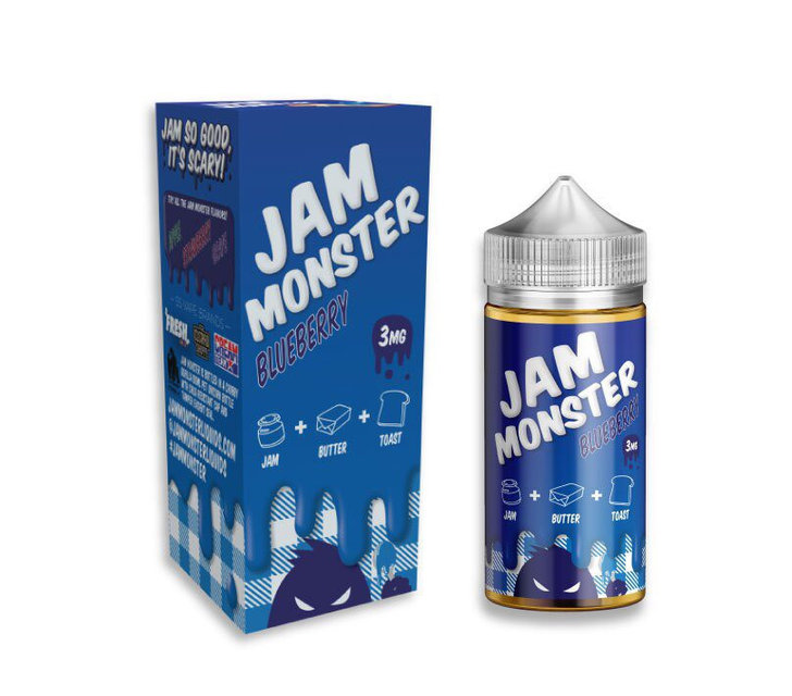 Жидкость Jam Monster - Blueberry, 100 мл.