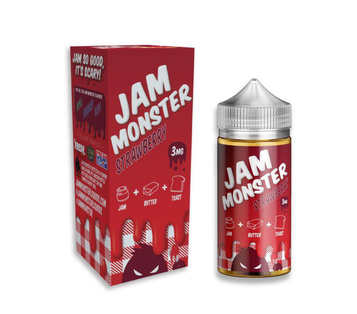 Жидкость Jam Monster - Strawberry, 100 мл.