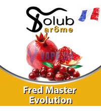 Solub Arome - Fred Master Evolution (Гранат и клюква), 5 мл.