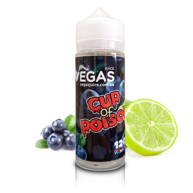 Жидкость Vegas MAX - Cup of Poison, 120 мл.