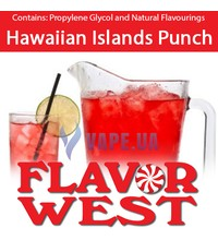 FlavorWest Hawaiian Islands Punch (Гавайский пунш), 10 мл.