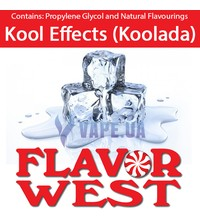 FlavorWest Kool Effects (Koolada) (Кулада), 10 мл.