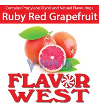 FlavorWest Ruby Red Grapefruit (Грейпфрут), 10 мл.