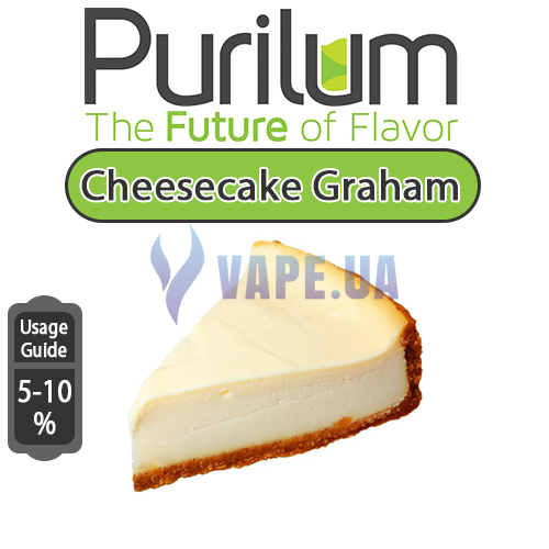 Ароматизатор Purilum - Cheesecake Graham (Чизкейк), 5 мл.