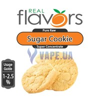 Real Flavors (SC) - Sugar Cookie (Сахарное печенье), 10 мл.