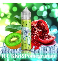 Fluffy Puff - Ice Kiwi & Pomegranate, 60 мл.
