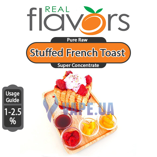 Ароматизатор Real Flavors (SC) - Stuffed French Toast (Французский тост), 10 мл.