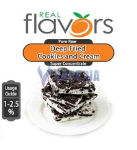 Real Flavors (SC) - Deep Fried Cookies and Cream (Жареное печенье и крем), 472 мл. (16 oz)