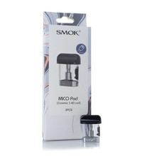 Smok Mico Cartridge Ceramic coil 1.4 ohm (3)