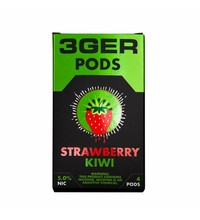 3Ger Pods Cartridge 50 мг 1 мл 4 шт Strawberry Kiwi