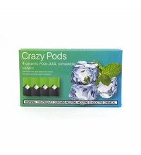 Crazy Pods Cartridge 50 мг 0.7 мл 4 шт Ice Mint