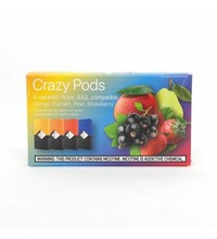 Crazy Pods Cartridge 50 мг 0.7 мл 4 шт Mix