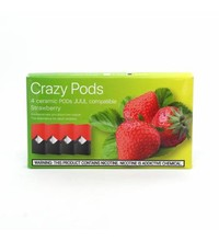 Crazy Pods Cartridge 50 мг 0.7 мл 4 шт Strawberry