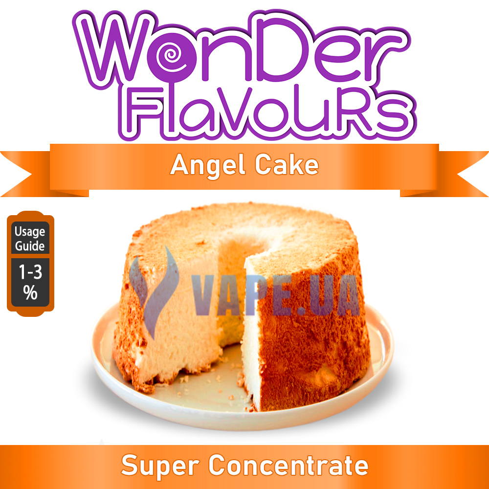 Ароматизатор Wonder Flavours (SC) - Angel Cake (Ангел торт), 10 мл.