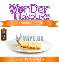 Wonder Flavours (SC) - Coconut Custard (Кокосовый крем), 10 мл.