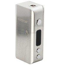 KOOPOR 60W Mini TC/VW 18650 Mod, silver