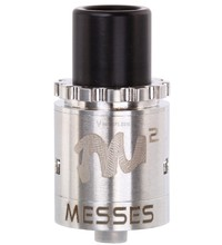 Twisted Messes v2 RDA, silver