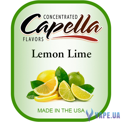Ароматизатор Capella - Lemon Lime (Лимон Лайм), 10 мл