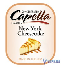 Capella - New York Cheesecake (Чизкейк), 10 мл