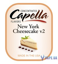 Capella - New York Cheesecake v2 (Чизкейк 2), 10 мл
