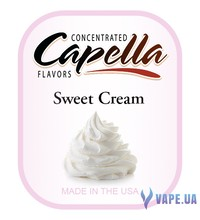 Capella - Sweet Cream (Сливки), 10 мл